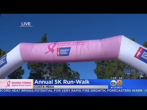 Making Strides Against Breast Cancer Walk Gets Underway In O.C.