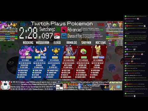 Twitch Plays Pokémon Battle Revolution - Matches #117781 and #117782