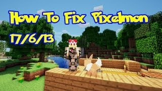 Pixelmon Update: How To Fix Your Pixelmon!!!
