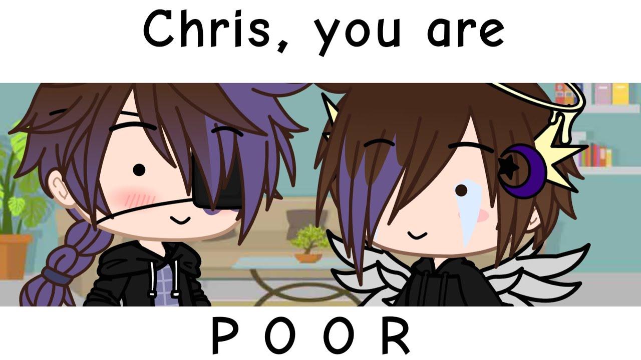 Chris, You Are Poor! // Michael and Chris Afton Skit // FNAF