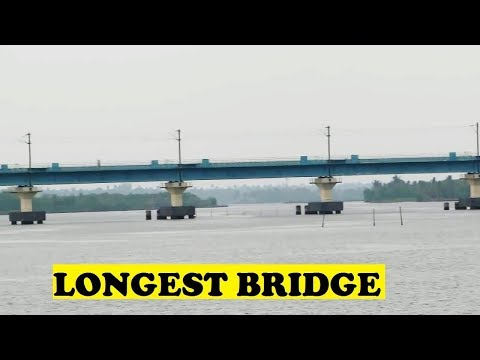 India's Longest Rail Bridge Vallarpadam Kochi