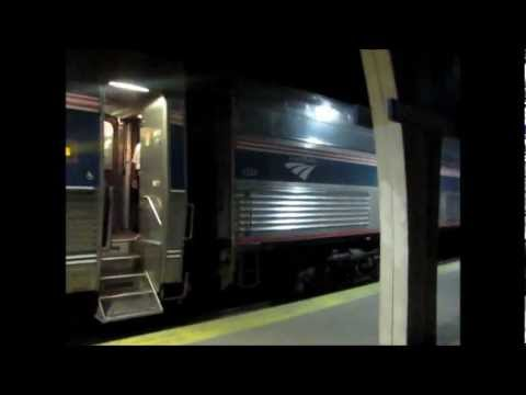 Amtrak's 'Cardinal', #50, Riding from Chicago to Indianapolis!