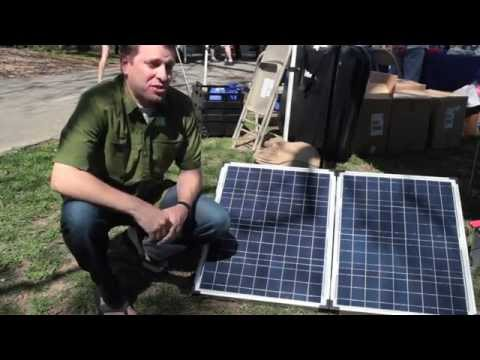 How To Power A TV With Solar Power