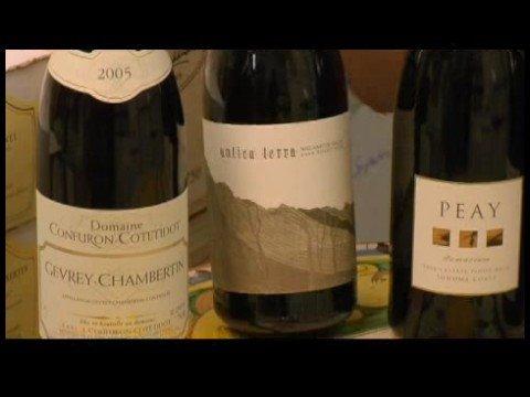 Pinot Noir Wine : Pinot Noir Old World vs. New World