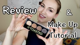 w7 toasted palette review make up tutorial   lena s lifestyle