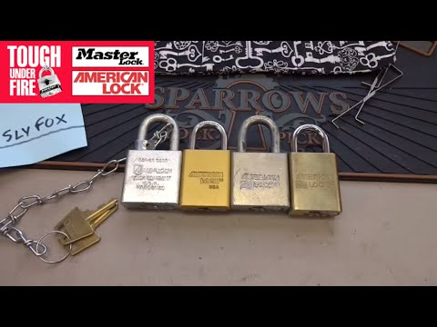 (663) Vulnerability DESIGNED INTO Master Lock & American Padlocks