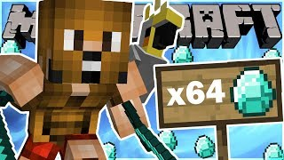 BUILDING AN EPIC TREEHOUSE & FINDING DIAMONDS! (Minecraft FUNNY MOMENTS!)