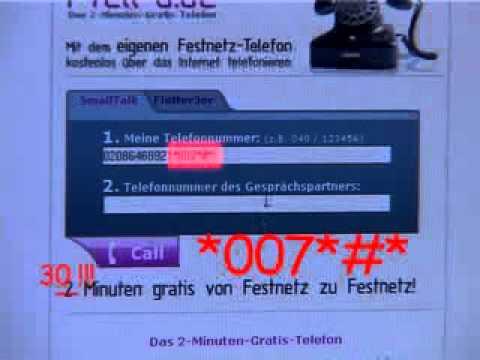 I-Tell-U FreeCall Hack - 30 minuten kostenlos telefonieren