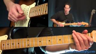 Foreplay/Long Time Guitar Lesson - Boston - Main Solo