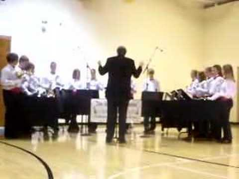 Bells of Harmony Bell Choir, Fort Branch Community School 3