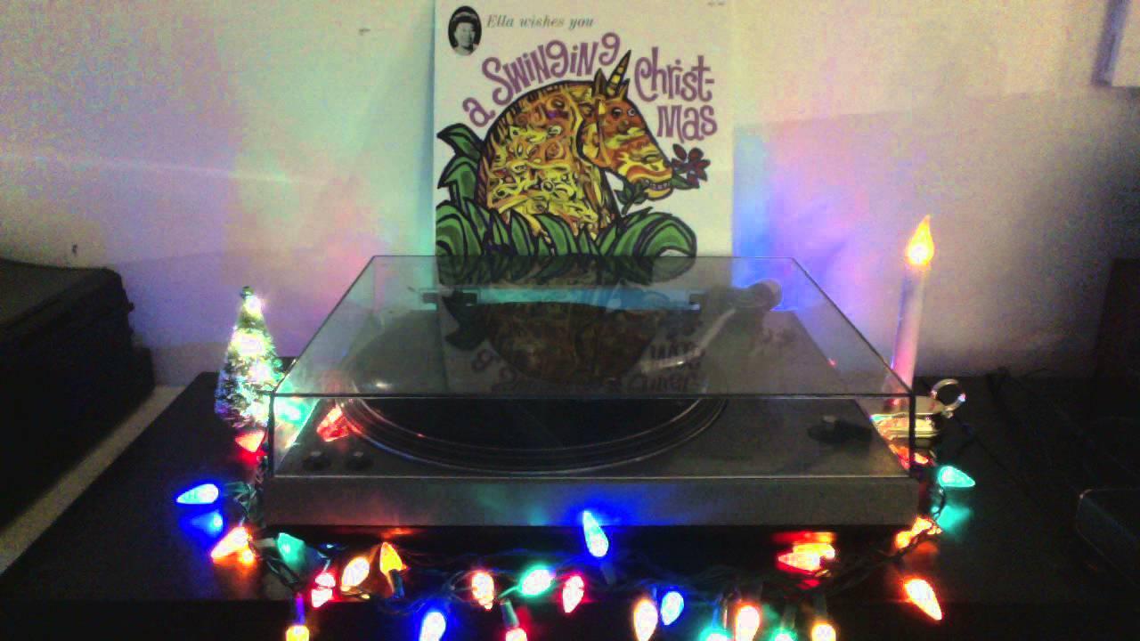 Ella Fitzgerald Sleigh Ride Vinyl Youtube
