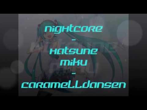 Nightcore - Caramelldansen ( Japanese version ) | Hatsune Miku cover
