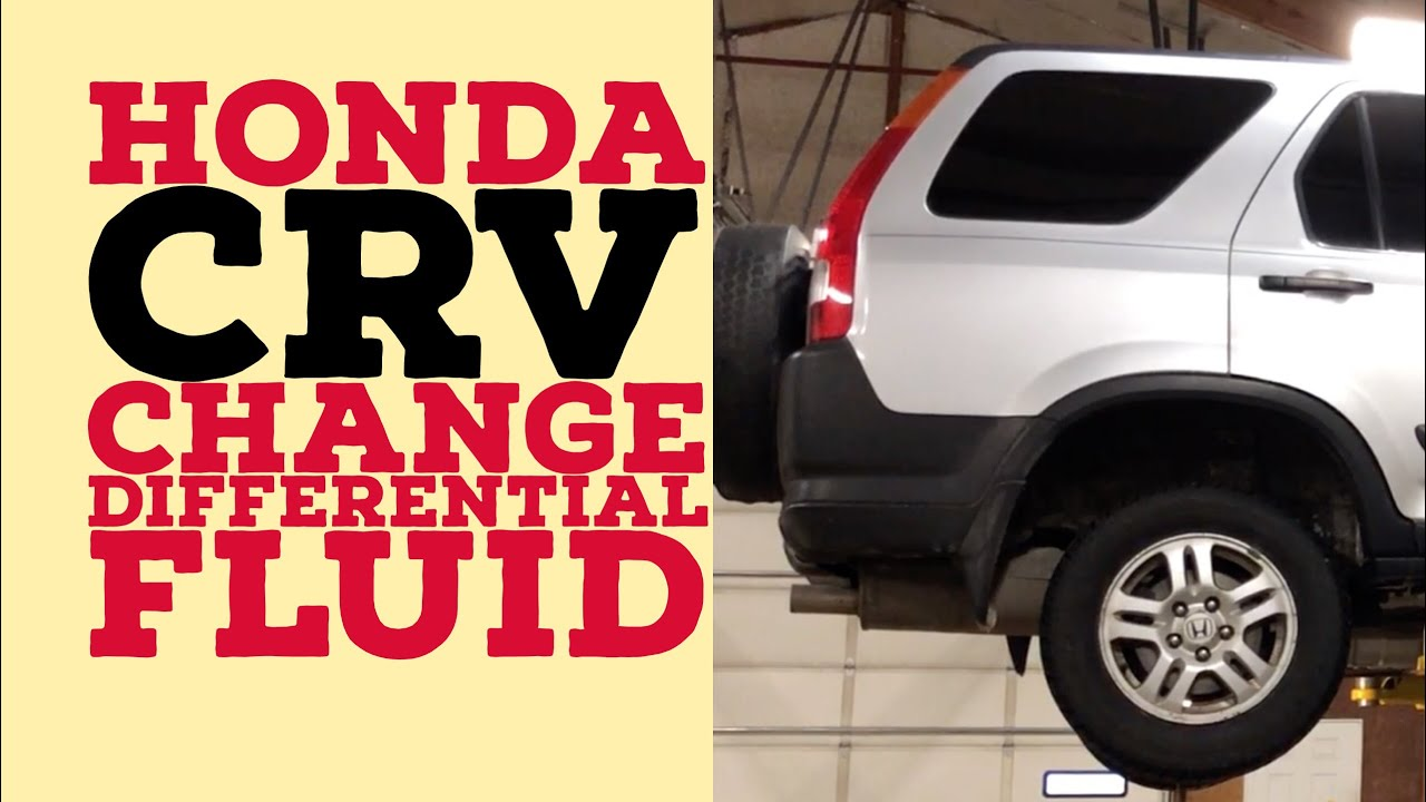 medium resolution of honda crv rear differential fluid change noise vibration fix 97 06
