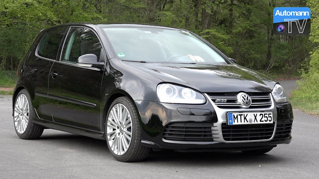 vw golf v r32 250hp drive sound 60fps youtube. Black Bedroom Furniture Sets. Home Design Ideas