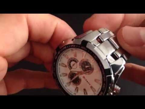 9d11a25f3b0c3c Zegarek Curren 8023 z AliExpress - recenzja - YouTube