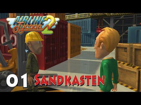 Airline Tycoon 2  [ Sandkasten 01 !!! Geldvernichtung ] Let's Play Deutsch German Gameplay Airline