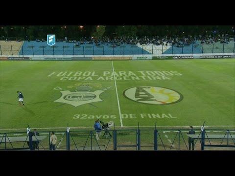 Fútbol en vivo. Gimnasia (LP) - Altos Hornos Zapla. 32 avos. Copa Argentina. FPT.