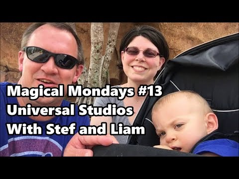 Magical Mondays #13 | Universal Studios Vlog with Stef and Liam