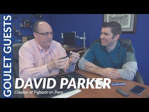 Goulet Guests: David Parker, Creator of Figboot on Pens