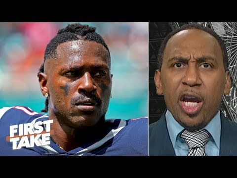 Stephen A. reacts to Antonio Browns tweets about quitting the NFL | First Take