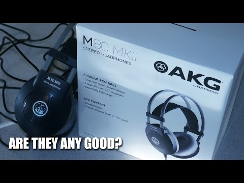 AKG M80 MKII HEADPHONES - ARE THEY ANY GOOD?