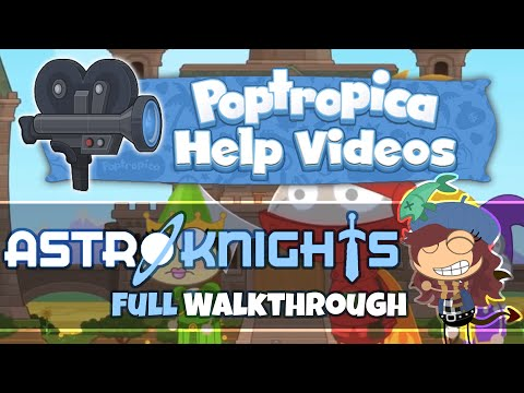 Astro-Knights Island (FULL Walkthrough) :: Poptropica Help Videos