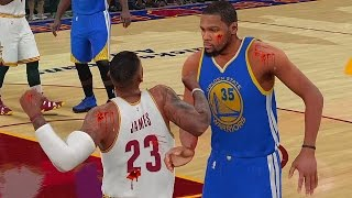 LEBRON JAMES FIGHTS KEVIN DURANT & STEPHEN CURRY