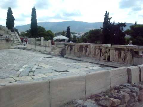 Theater of Dionysus, Athens Greece