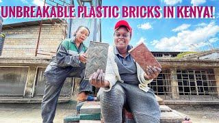 Meet The 29yr Old Genius Turning Plastic To Bricks In Kenya!