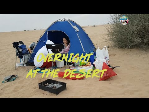 Half Desert (Dubai) – Overnight Camping