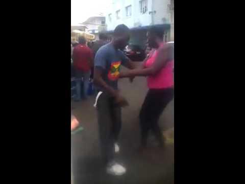 mad woman in Grenada.  Lol