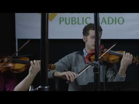 Altius Quartet play Beethoven: String Quartet No. 6: Allegro con brio (1st mvt.) at CPR Classical