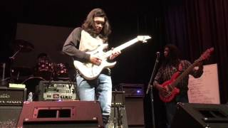 "Vai Academy 2017 - Daniel Molina Ft. Steve's Band Covering ""For The Love of God"""