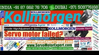 Kollmorgen Repair Servo drive fault Encoder problems Servo motor chatter Repair motor,Print Pack