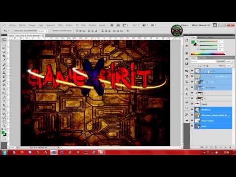 SpeedArt Logo GameXpirit By FapAlfa