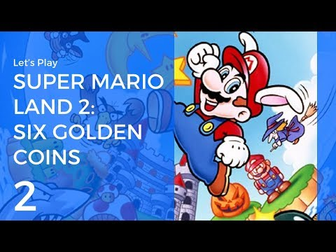Let's Play Super Mario Land 2: Six Golden Coins #2 | Turtle Zone