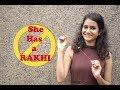 Hot Girl Tying Rakhi to Strangers Prank | Raksha Bandhan Special | One in All
