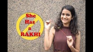 Download Hot Girl Tying Rakhi to Strangers Prank | Raksha Bandhan Special | One in All Mp3