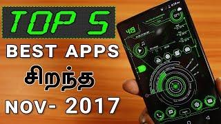 ச றந த 5 top app november 2017 without root in tamil loud oli tech
