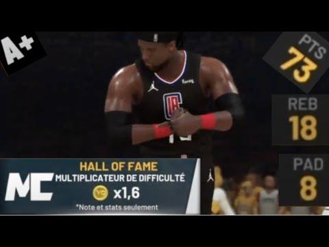 NBA2K21 DEMI FINALE PLAYOFFS VS DENVER NUGGETS MAIS EN CARRIERE / FINISSEUR COMPLET