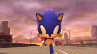 Sonic Generations - Sonic vs Silver (Knight of the Wind song)