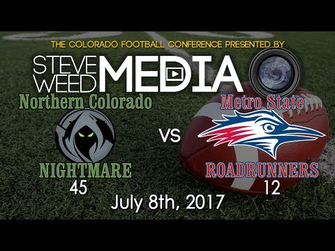 NOCO Nightmare vs Metro State Roadrunners - 7-8-17