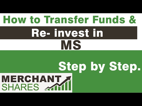 Merchant Shares- How to Transfer and Reinvest in Merchant Shares.