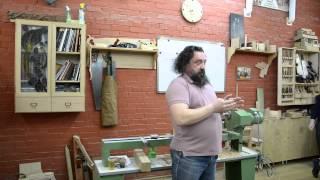 Встреча в Rubankov.Net - Бондарев Ф.А. Часть 1 - Об обучении художественной обработке древесины
