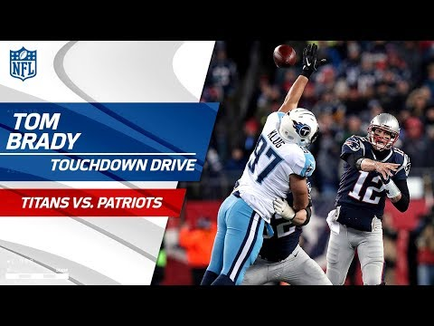 New England Drives for Another TD to Extend Lead! | Titans vs. Patriots | NFL Divisional Round HLs