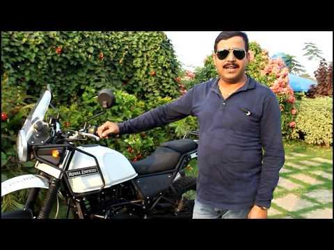 ROYAL ENFIELD HIMALAYAN BS4 FULL REVIEW VIDEO in hindi