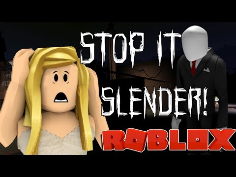 NEVER PLAYING A HORROR GAME AGAIN!! | ROBLOX STOP IT SLENDER! | With Friends!