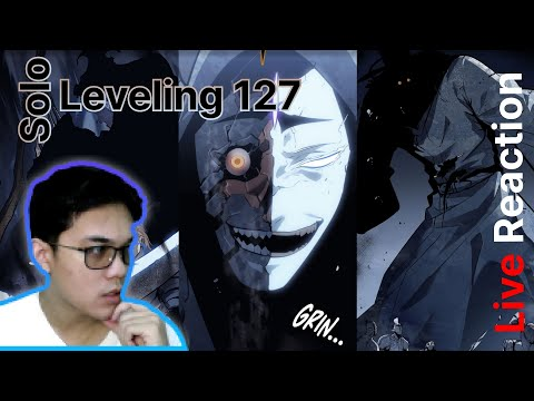 Solo Leveling Chapter 127 Live Reaction - JINWOO STILL BOSS WITHOUT HIS SHADOWS SOLDIERS!