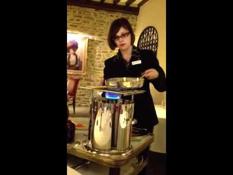 Crepes Suzette At Maison Lameloise
