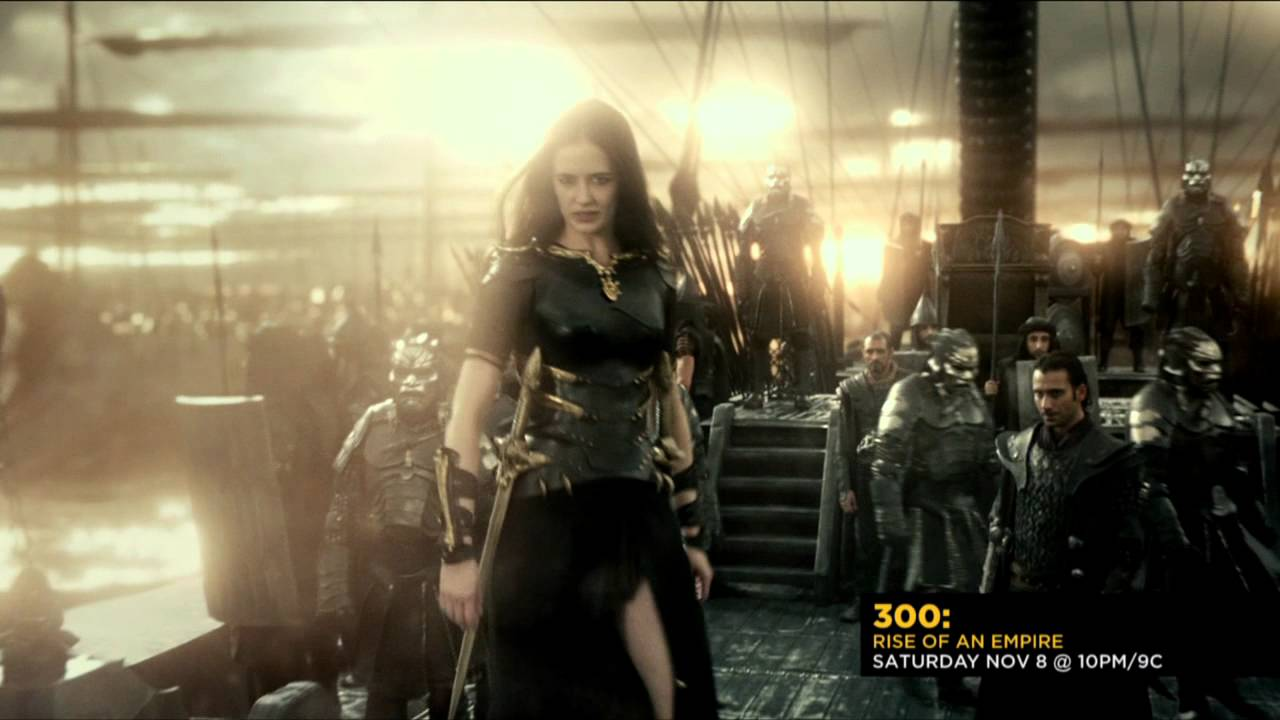 300: Rise of an Empire - Cast Interview Eva (Cinemax ...